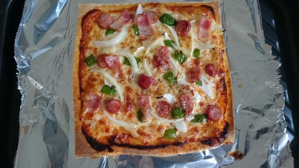 春巻き の 皮 ピザ